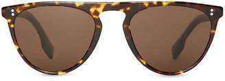 Burberry Eyewear Keyhole D-shaped Sunglasses