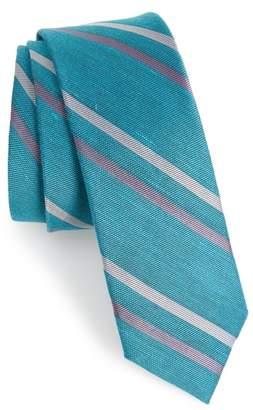 The Tie Bar Pep Stripe Tie