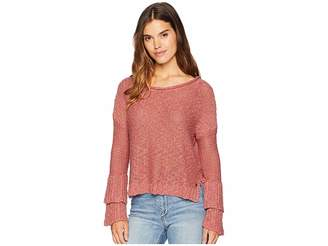 Roxy Ruffle Party Sweater