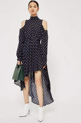 Style Mafia Dotty asymetric dress