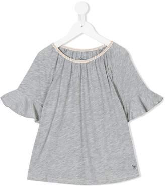 Bellerose Kids ruffled sleeve T-shirt