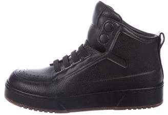 3.1 Phillip Lim Leather High-Top Sneakers w/ Tags