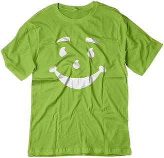 Lrg BSW Men's Kool-Aid Man Smiley Face Oh Yeah! Juice Shirt 2XL Lime