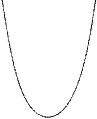 """Dodo Sterling Silver Everyday Chain Necklace, 19.6"""""""