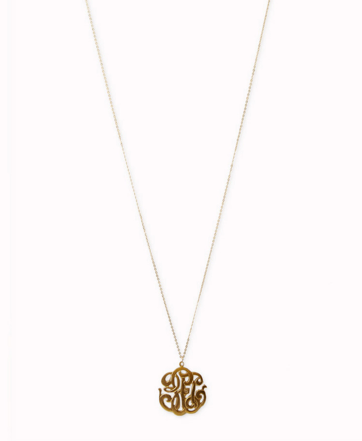 Forever 21 Filigree Pendant Necklace