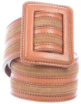 Theory Stripe Waist Belt