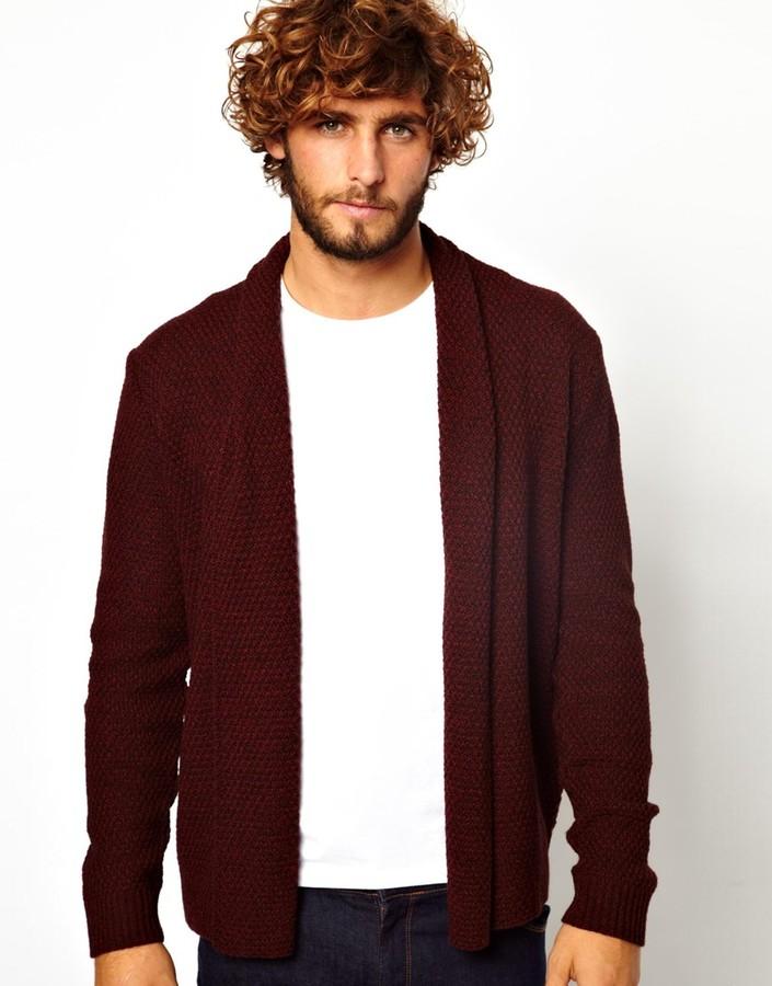 Asos Cardigan in Textured Yarn