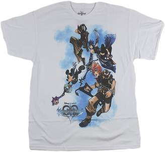 Disney Men's Kingdom Hearts Birth by Sleep T-Shirt