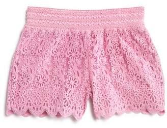 Design History Girls' Lace Shorts - Little Kid
