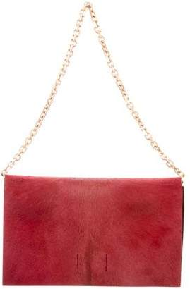 Calvin Klein Collection Ponyhair Shoulder Bag