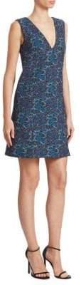 Erdem Eleena V-Neck Shift Dress