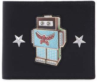 MCM Small Roboter Leather Coin Wallet