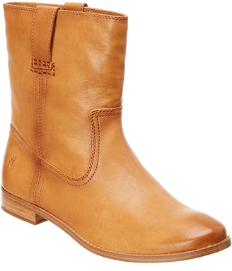 Frye Anna Short Leather Boot