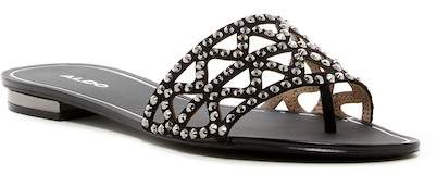 Aldo Fridia Studded Cutout Thong Sandal