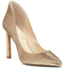 Jessica Simpson Parma Sequined Pointy Pumps