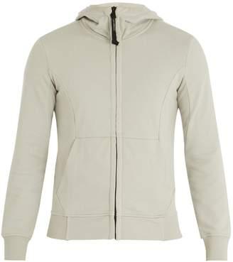 C.P. Company Goggle hooded zip-through cotton sweatshirt