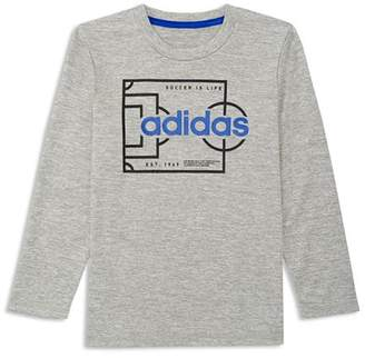 adidas Boys' Soccer is Life Graphic Tee - Big Kid