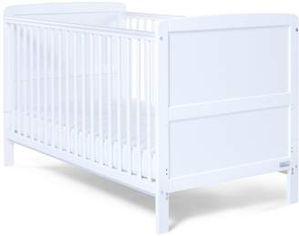 Baby Elegance Travis Cot Bed (White)