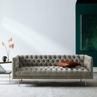 "west elm Modern Chesterfield Sofa (79"")"
