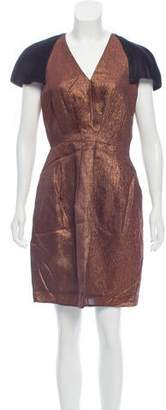 3.1 Phillip Lim Metallic Knee-Length Dress