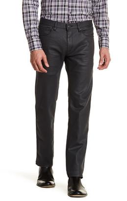 "HUGO BOSS 708 Coated Slim Fit Jean - 32-34\"" Inseam $175 thestylecure.com"