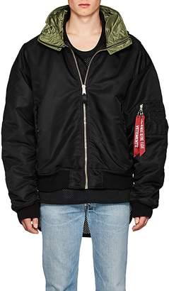 Vetements Men's Hooded Oversized Bomber Jacket