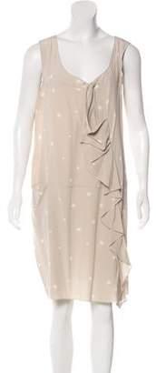 Marni Silk Polka Dot Dress