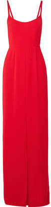 Crepe Gown - Red