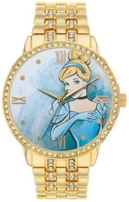 Disney Disney's Cinderella Women's Cubic Zirconia Watch