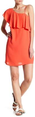 1 STATE 1.State Ruffle One-Shoulder Dress