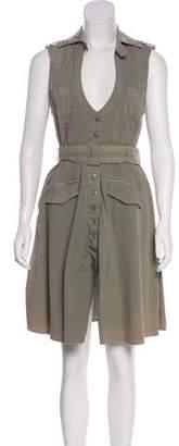 LaROK Sleeveless Knee-Length Dress
