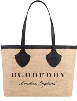 Burberry Giant Reversible Logo Tote