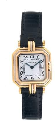 Cartier 18K Tri-Color Gold Womens Watch