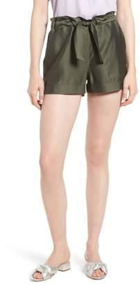 Trouve Cargo Paperbag Waist Shorts