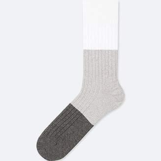 Uniqlo Men's Color Block Socks