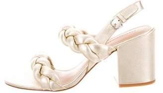 Rebecca Minkoff Braided Slingback Sandals