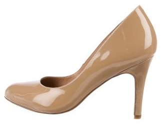 Corso Como Patent Leather Round-Toe Pumps