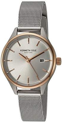 Kenneth Cole New York Women's Classic Japanese-Quartz Watch with Stainless-Steel Strap