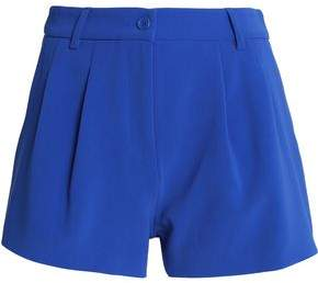 Moschino Pleated Crepe Shorts