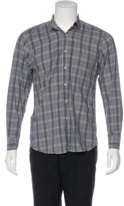 Steven Alan Plaid Button-Up Shirt