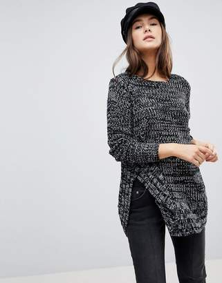Qed London Speckled Knit Jumper