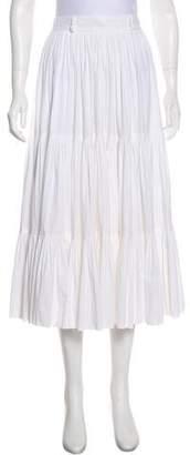 Prada Sport Cotton Midi Skirt