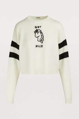 Miu Miu Wool unicorn sweater