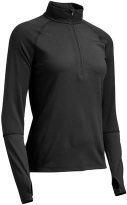 Ems Women's Techwick Midweight 1/4-Zip Base Layer