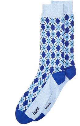 Bar III Men's Check Argyle Socks, Created for Macy's