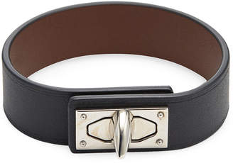 Givenchy Shark Leather Bracelet