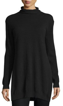 Theory Beninaty Cashmere Roll-Neck Sweater $395 thestylecure.com