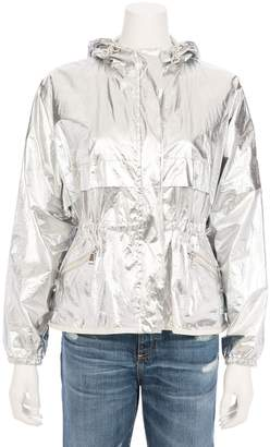 Moncler Jais Hooded Metallic Windbreaker