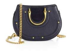 Chloé Pixie Mini Round Leather Shoulder Bag
