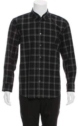 Marc Jacobs Wool Plaid Shirt
